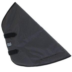 Afneembaar nekstuk - Zwart/grijs