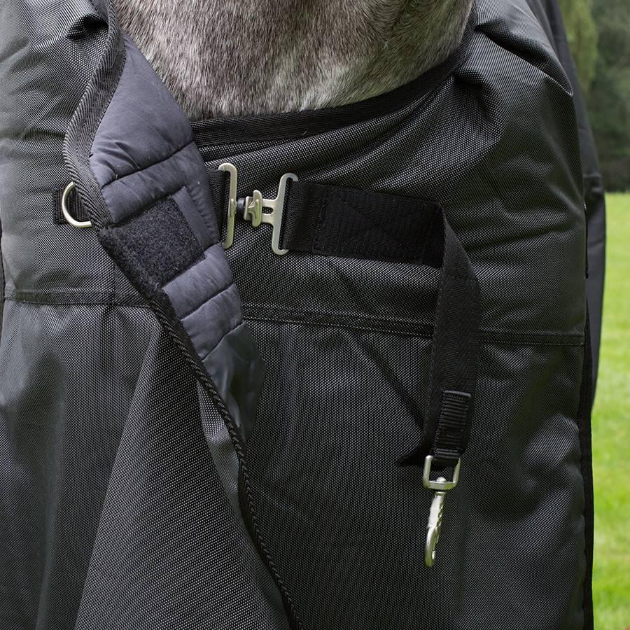Greenfield Selection Buitendeken 200 gram - Zwart/grijs