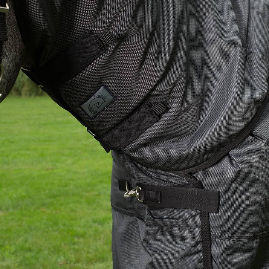 Greenfield Selection Buitendeken 400 gram - Zwart/grijs