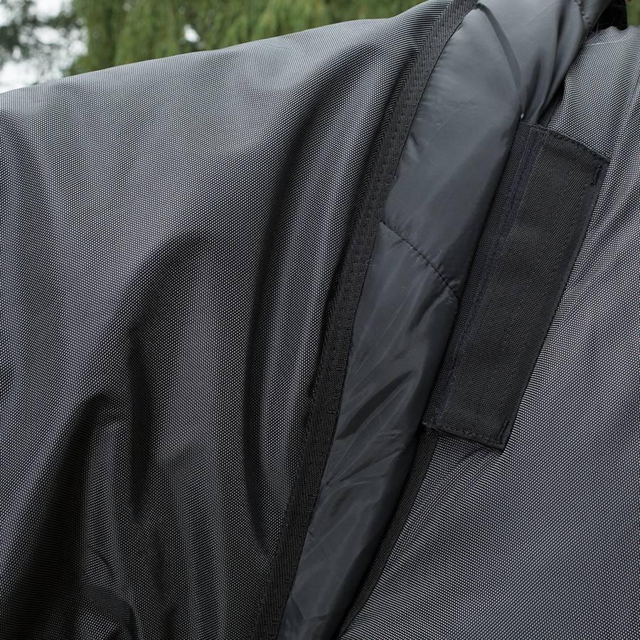 Greenfield Selection Couverture d'extérieur 400 gr - Noir/gris