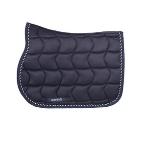 Saddle pad pony - navy/navy-mix