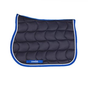 Saddle pad pony - navy/royalblue-white