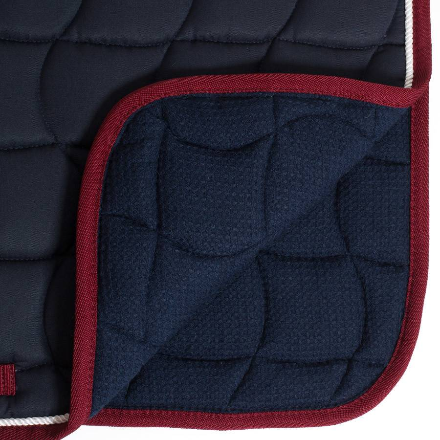Greenfield Selection Saddle pad – navy/navy-white/silvergrey