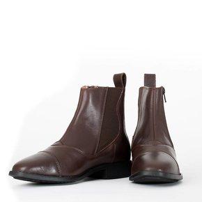 Boots avec fermeture de biais