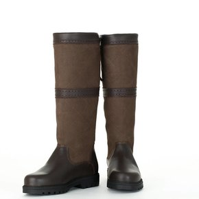 Checked outdoor boots