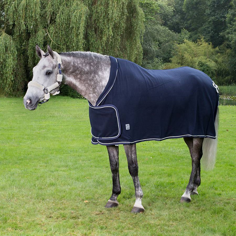 Greenfield Selection Fleece publiciteitsdeken - blauw/blauw-zilver