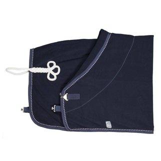 Greenfield Selection Fleece deken pony - blauw/blauw-mix