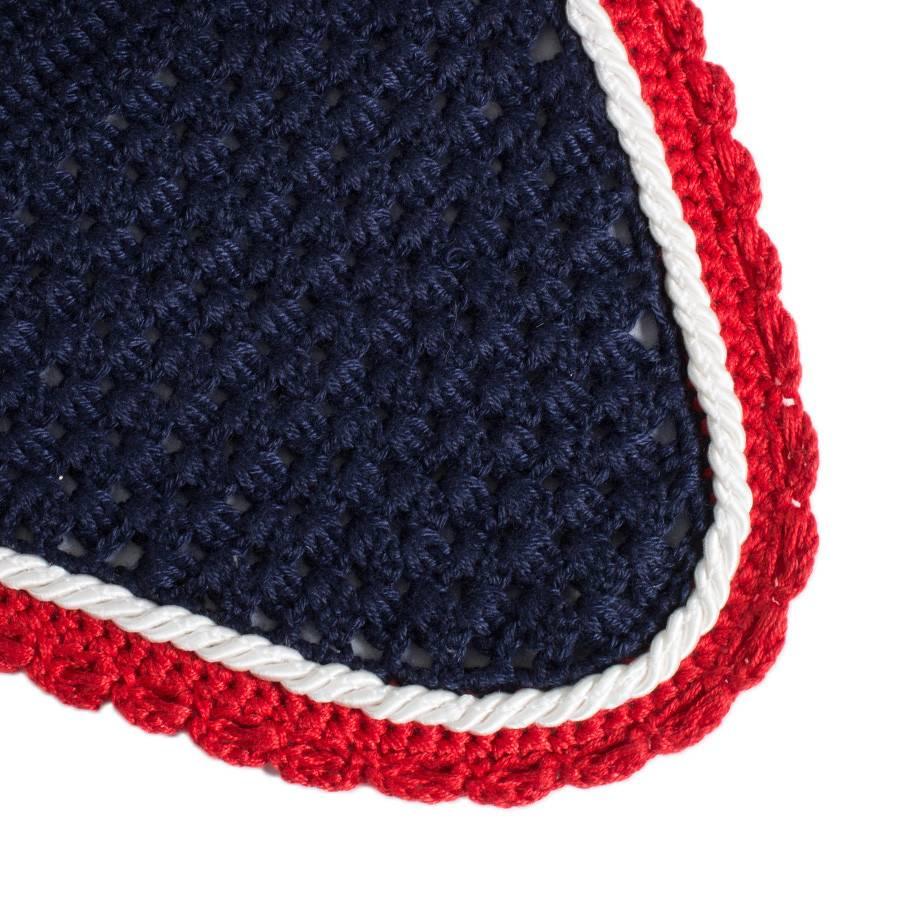 Greenfield Selection Bonnet poney - bleu marine/rouge-blanc