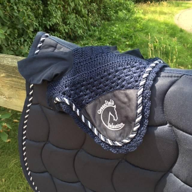 Greenfield Selection P/M/1 - Pony - Oornetje - blauw/blauw-mix met GF logo