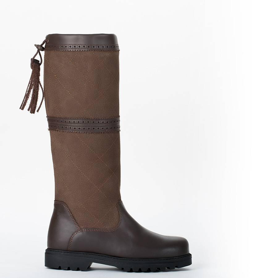 Greenfield Selection L2/W - Geruite outdoor laarzen - wijde kuit