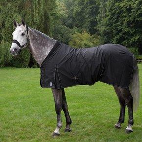 Katoenen deken met kraag