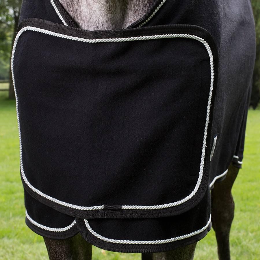 Greenfield Selection Couverture laine remise des prix - noir/noir-gris argent