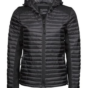 TJ - Hooded Outdoor Crossover - Knitted - Jacket ladies
