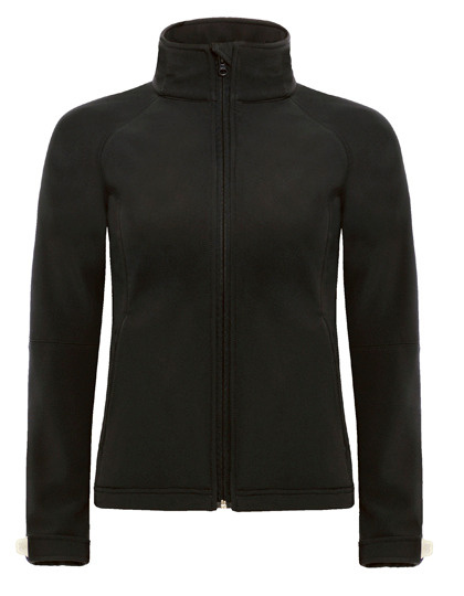 B&C B&C - Hooded Softshell - Jas - dames