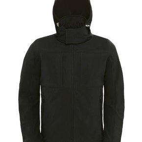 B&C - Hooded Softshell - Jas - heren