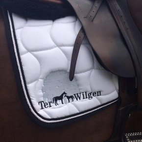 Embroidery - Saddle pad