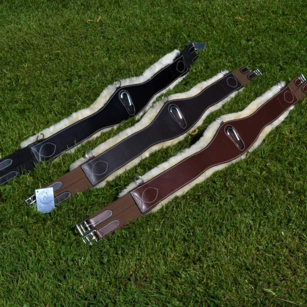 Greenfield Selection Girth with wool
