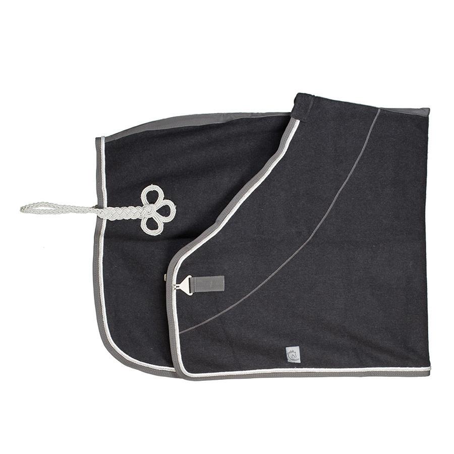 Greenfield Selection Wollen deken - grijs/grijs-wit/zilvergrijs