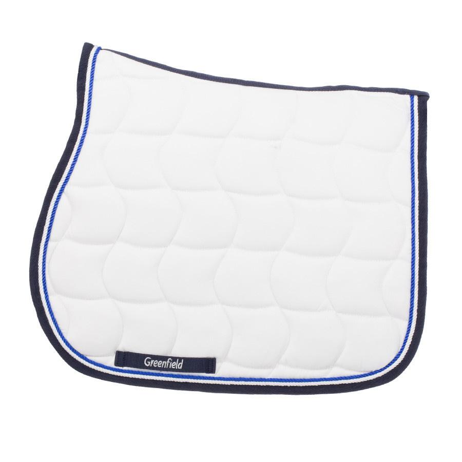 Greenfield Selection SP/2 - Zadeldoek - wit/blauw-wit/koningsblauw