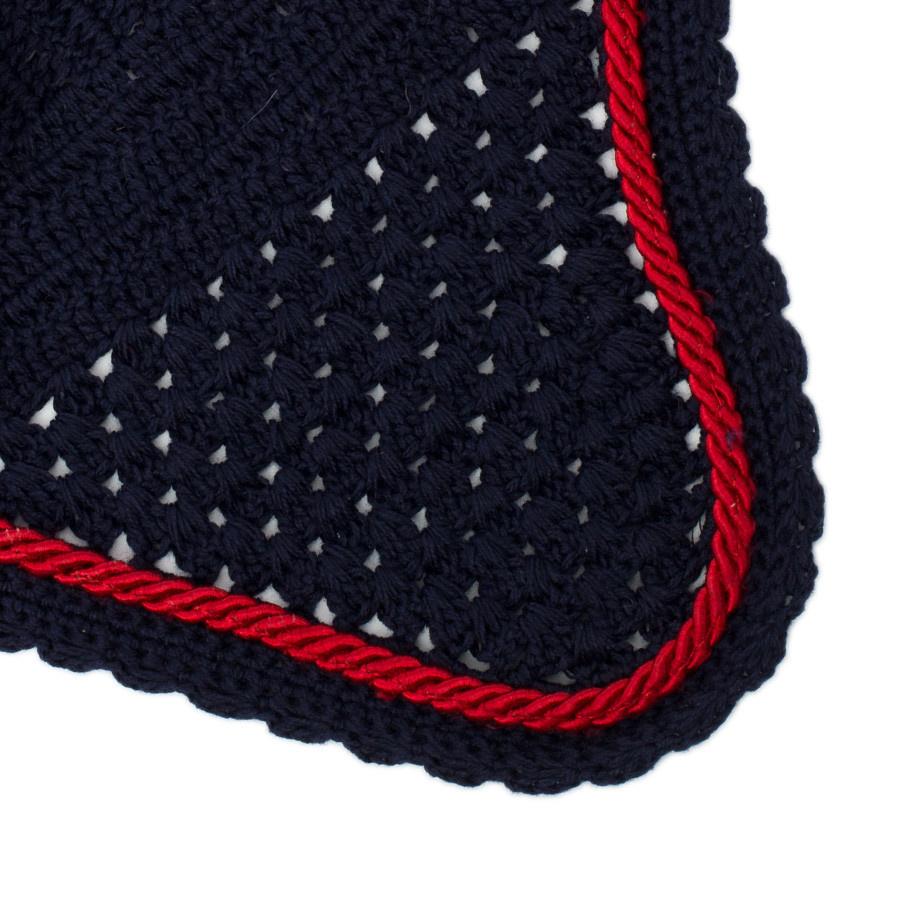 Greenfield Selection M/1 - Bonnet – bleu marine/bleu marine-rouge