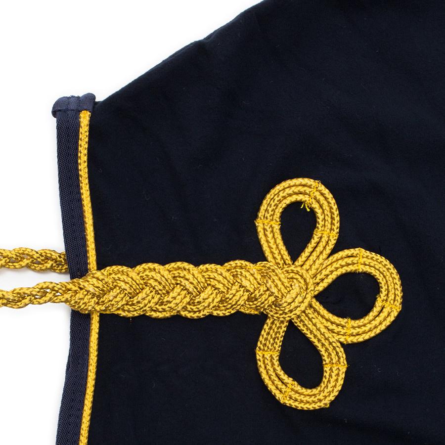Greenfield Selection Chemise polaire de remise des prix - bleu marine/bleu marine-or avec logo GF