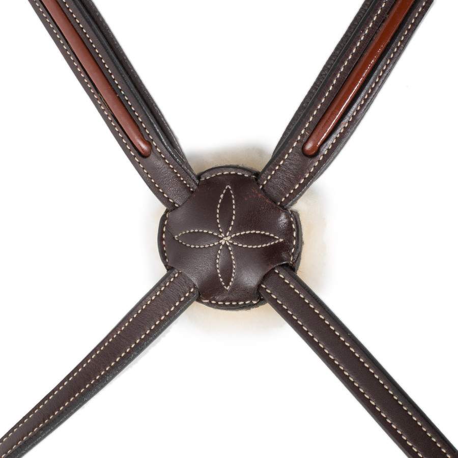 Greenfield Selection 718/Q2 - Bridle with mexican noseband - calf leather excl. reins