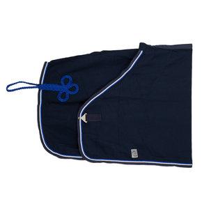 Honeycomb rug - navy/navy-white/royalblue