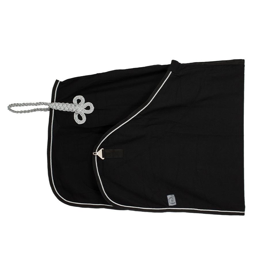 Greenfield Selection Honeycomb rug - black/black-silver