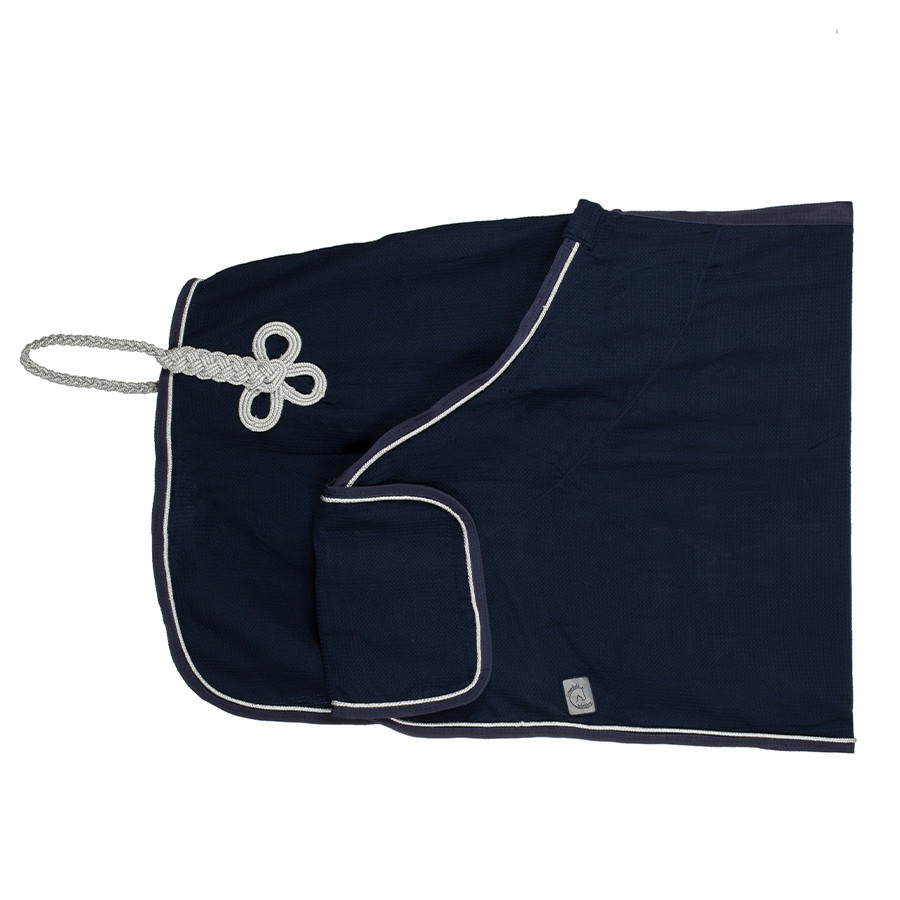 Greenfield Selection Publicity honeycomb rug - navy/navy-silver