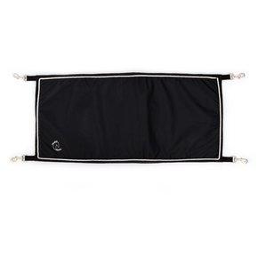 Porte de boxe noir/noir - blanc