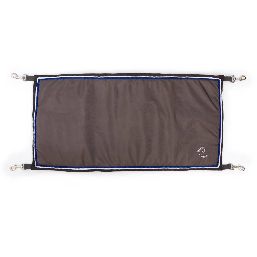 Greenfield Selection Staldeurdoek grijs/grijs - zilvergrijs/koningsblauw