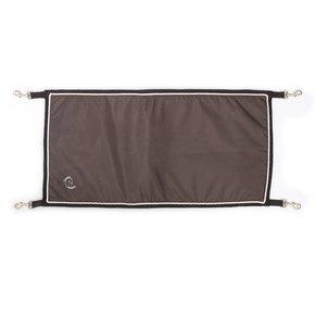 Porte de boxe gris/gris - blanc