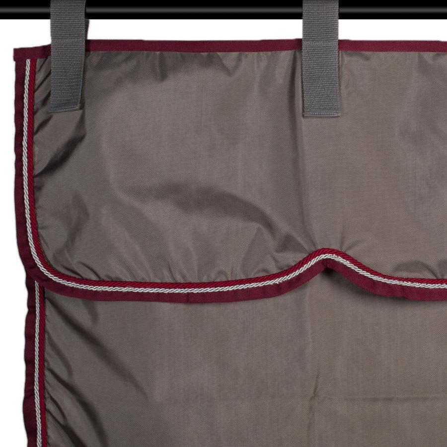 Greenfield Selection Tenture gris/bordeaux - gris argent/bordeaux
