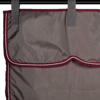 Greenfield Selection Sac de rangement gris/bordeaux - gris argent/bordeaux