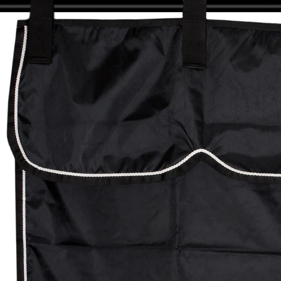 Greenfield Selection ST3 - Stable curtain black/black - white