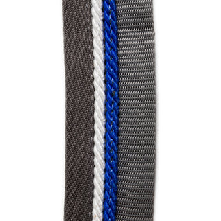 Greenfield Selection Zadeldoekhouder grijs/grijs - zilvergrijs/koningsblauw
