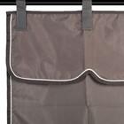 Greenfield Selection Porte de boxe gris/gris - blanc