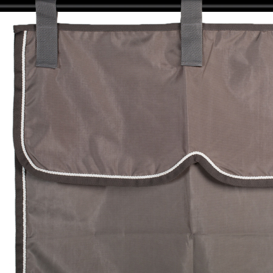 Greenfield Selection Stable curtain grey/grey - white