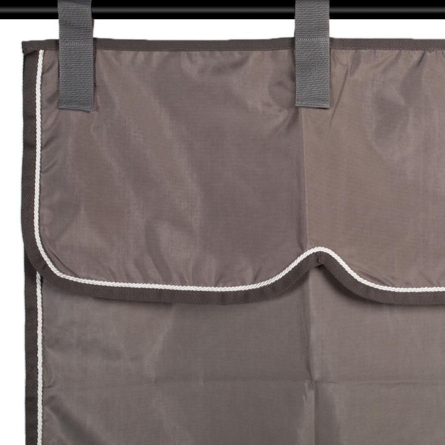 Greenfield Selection Stalgordijn grijs/grijs - wit
