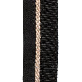 Saddle pad holder black/black - beige