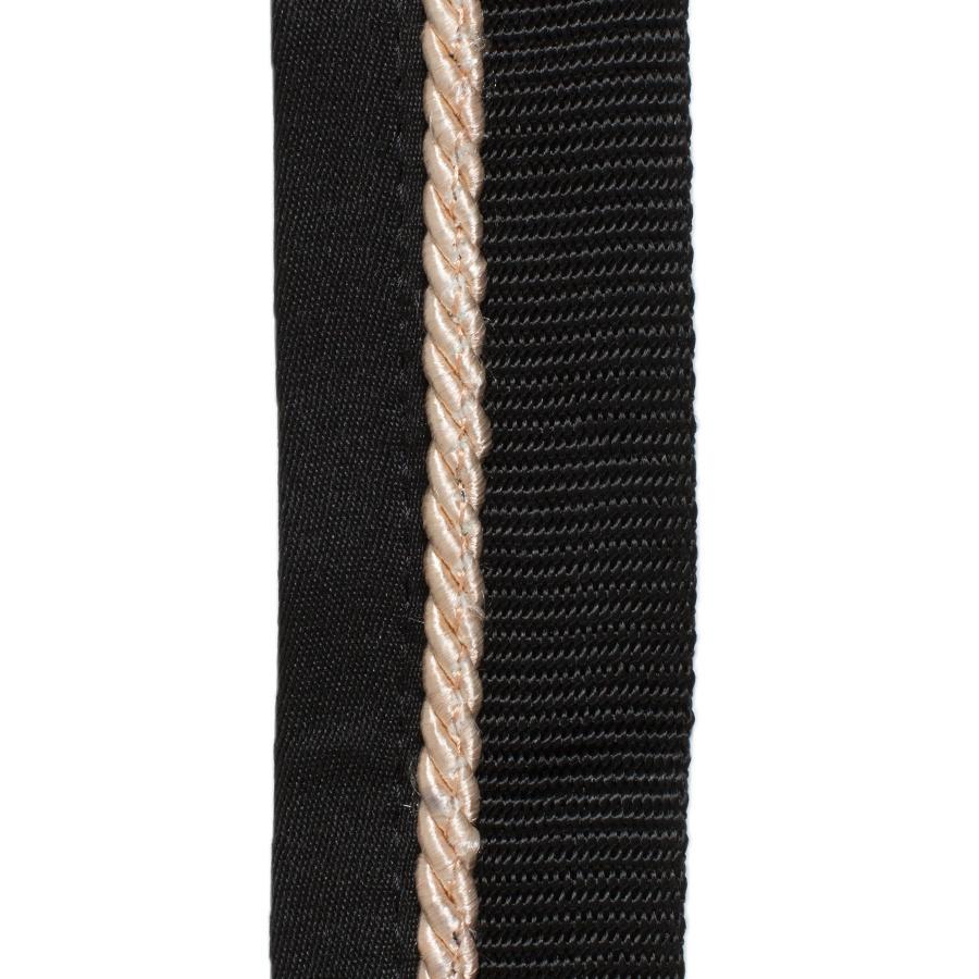 Greenfield Selection Zadeldoekhouder zwart/zwart - beige