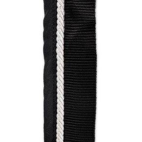 Saddle pad holder black/black - white