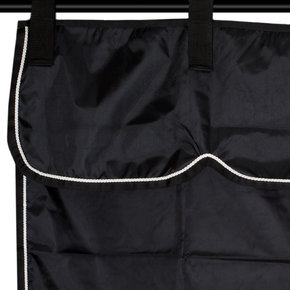 Storage bag black/black - white