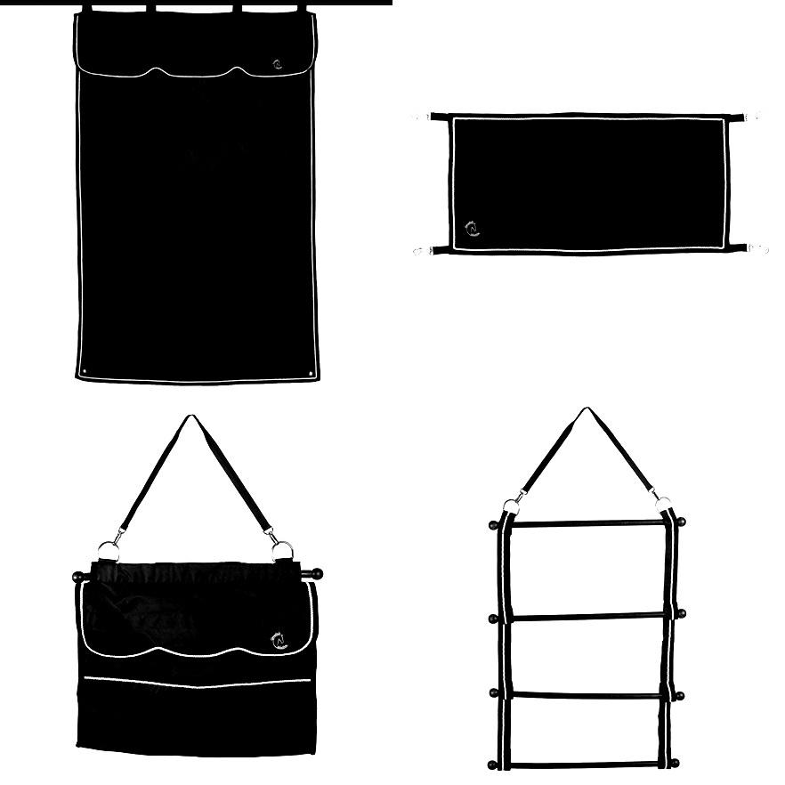 Greenfield Selection Stalset zwart/zwart - beige
