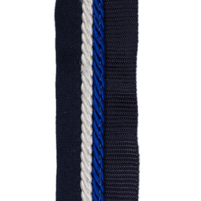 Saddle pad holder navy/navy - white/royalblue
