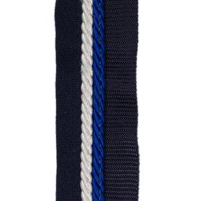 Zadeldoekhouder blauw/blauw - wit/koningsblauw