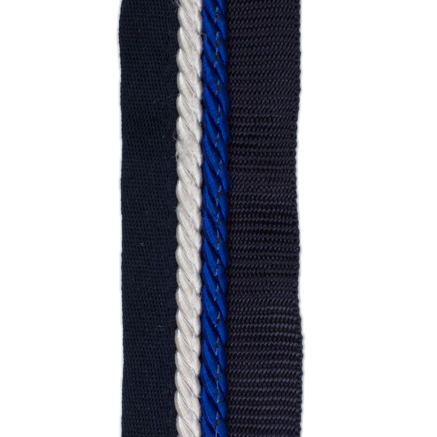 Greenfield Selection Porte tapis bleu marine/bleu marine - blanc/bleu royal