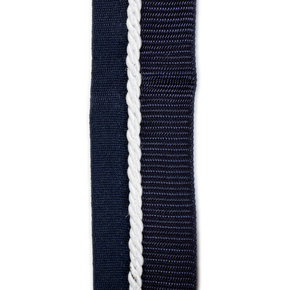 Saddle pad holder navy/navy - white