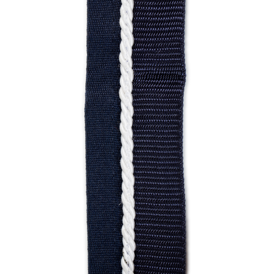 Greenfield Selection Saddle pad holder navy/navy - white