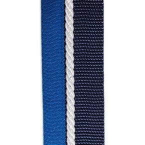 Porte tapis blue marine/blue clair - blanc